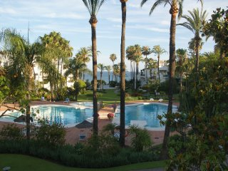 Garden apartment Alcazaba beach