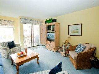 Nicely decorated 2 bedroom, 2 & 1/2 bath townhouse stye Courtside Villa, Hilton Head