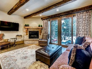 Beautiful Arrowhead Townhouse with Creek-side Patio and Superb Ski Access