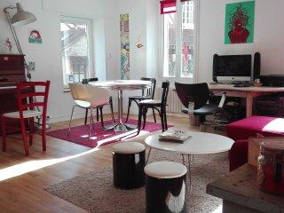 Maison 100 m2, 25 mètres de la plage, vues mer., Lion-sur-mer