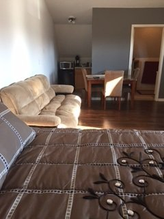 up stairs efficiency,Queen bd, pul/out sofa sleep4, Mackinaw City