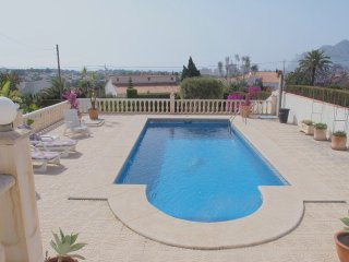Picturesque villa in Calpe