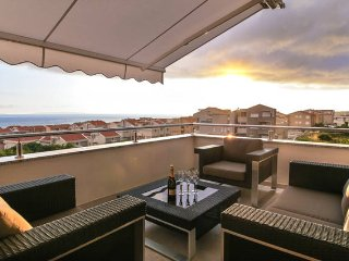 Adriatic, luxury penthouse up to 4 people, Novalja