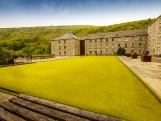 The Mill, Cressbrook, Monsal Dale, Peak District, Great Longstone