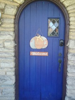 Front Entrance--Welcome!