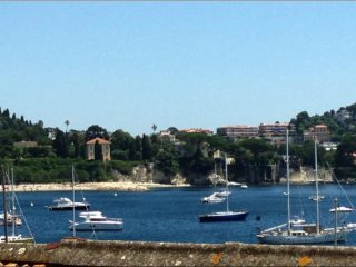Villefranche Sur Mer, 1bed apartm. for 4 with view