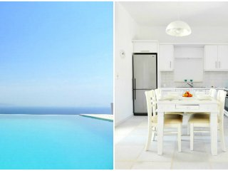 2 Bedroom Luxury Pool House - Paros