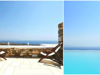 1 Bedroom Luxury Pool House - Paros