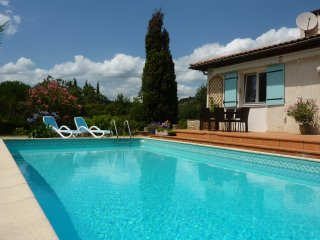 Delightful House with Private Heated Pool and Large Garden