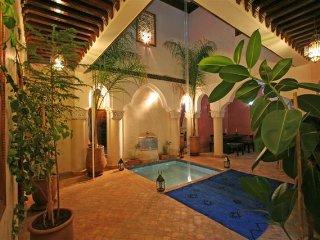 Maison d'hotes  4 chambres au centre de la Medina