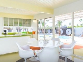 Mid Century Modern as 'Seen on Tv'  Pool Home/View, Palm Springs