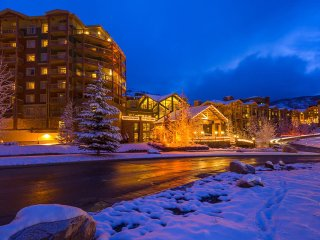 It's snowing in Park City, UT 1 Bdm villa  rental Dec 16-23 2017