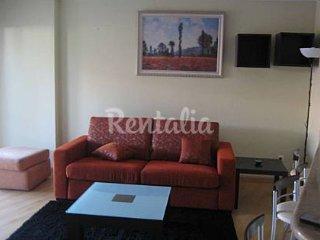 Coqueto apartamento con terraza en Sabaris(Baiona)