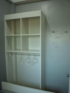 Designed of the Built in Cabinet for both the bedrooms