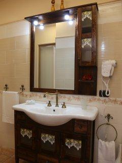 bagno camera suite matrimoniale Orchidea