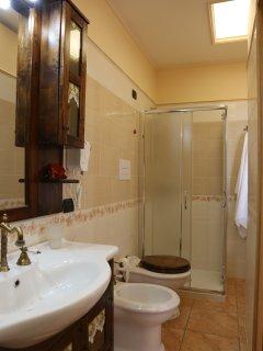bagno suite matrimoniale Orchidea
