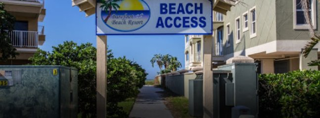 Beach directly across street with private beach access!