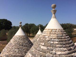 Trullo KAROMA in magical Puglia