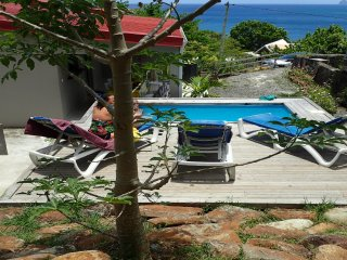 EDASAMA  5mn à pied de la plage de l Anse Figuier.