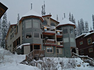 Sleeps 9 - True Ski In/Out - 2 Bedroom, 2 Bathroom, Private Hot Tub Chalet, Big White