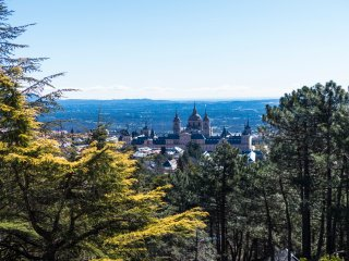 Magnificent views to the Monastery, San Lorenzo de El Escorial