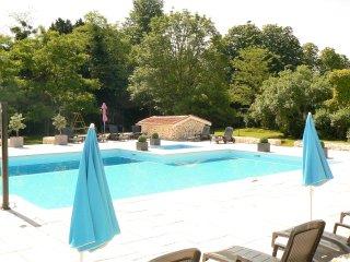 Le Campsis - Fabulous apartment, beautiful pool, Brossac