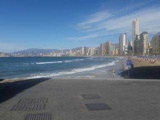 Estudio en primera linea de playa con vistas