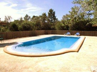 Sa Costa,casa de campo,wifi, gran piscina privada, Campos