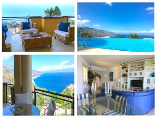 PANORAMIC RESIDENCE pool & view, Taormina