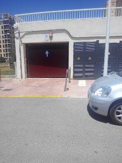 entrada al garaje