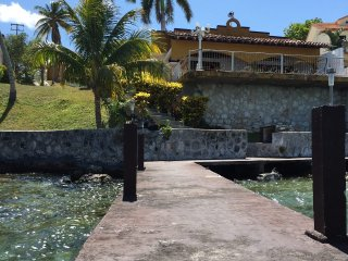 The house from the dock