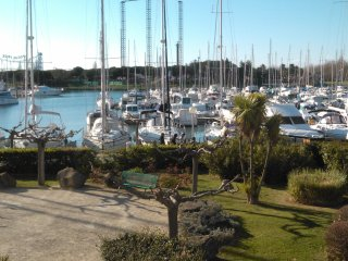 T2 face au port avec parking, Cap-d'Agde