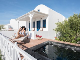 OIA SUNSET VILLAS - villa TOPAZ - Pool & Spa, Oia