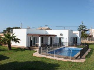 Casa con piscina Cala Llombards, Cala Santanyi