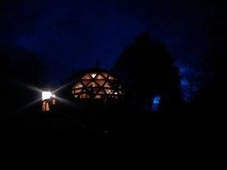 Domo Tipo Cabaña Bosque Nativo en Recinto, Termas de Chillán
