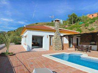Villa Aurora con piscina privada para 6 personas, Cómpeta