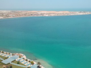 Beautiful sea view on Corniche road, Abu Dabi