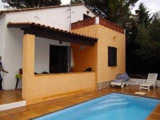 Economico! Casa con piscina privada y terraza para 6/8pers