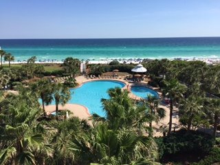 Destin ON-THE BEACH luxury CRESCENT unit.  Top 4th floor, best views, best price