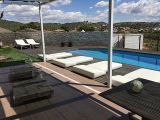Vivienda con vistas al mar, chill-out y piscina, Segur de Calafell