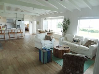 Living Room and dining room.