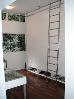 Master suite is integrated with a large closet that can be turned into a 3rd.room w/ 2 single beds.