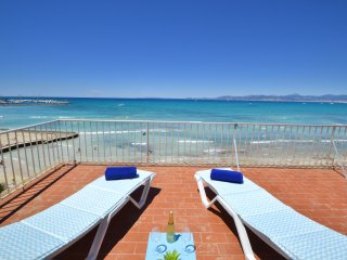 Berlin 2 apartment in front of the beach!, Palma de Majorque