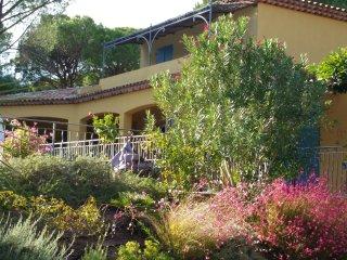 Tres jolie villa parmi les pins parasol