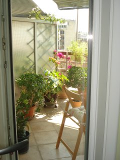 to veranda