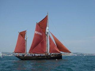 Pilgrim of Brixham - Classic Heritage Sailing Boat