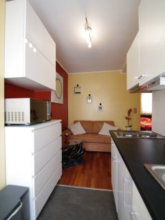 Apartment - Sicht von der Terasse