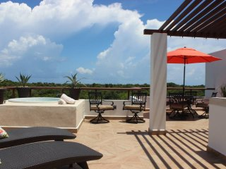 RP2 PH, Private Rooftop w Jacuzzi, Akumal