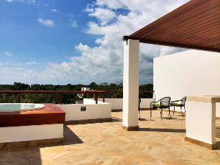 ZP5 Amazing Penthouse with Beach Club, Akumal