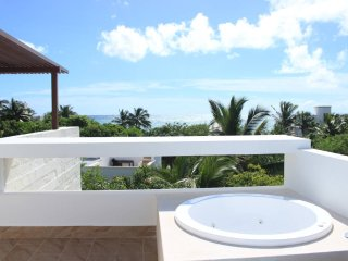 OF5 Amazing Ocean View from Rooftop, Akumal